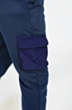 Cargo Tracksuit in Navy