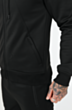 Signature Poly Tracksuit in Black