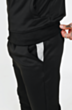 Arm Panel Poly Tracksuit in Black