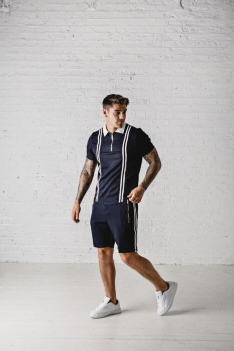 Cambrid Twin Set in Navy