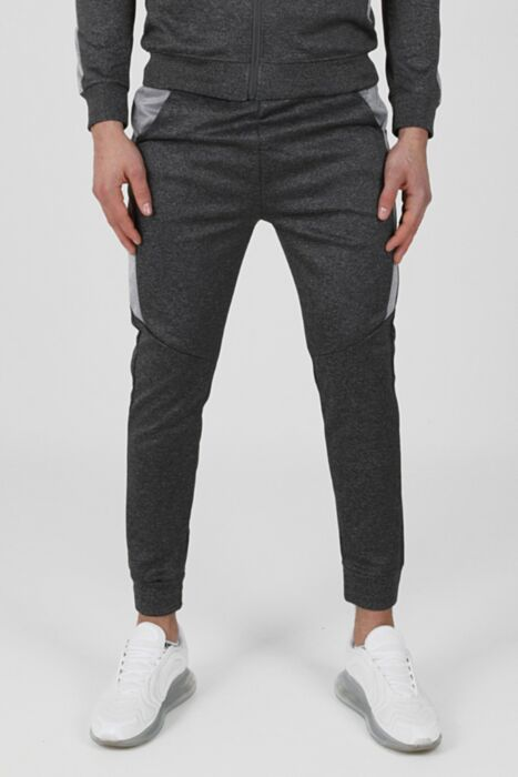 Merger Tracksuit in DarkGrey - Bottom