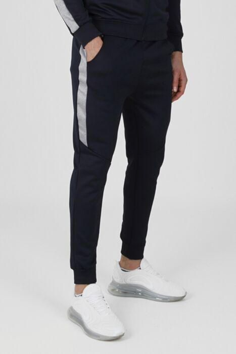 Merger Tracksuit In Navy - Bottom