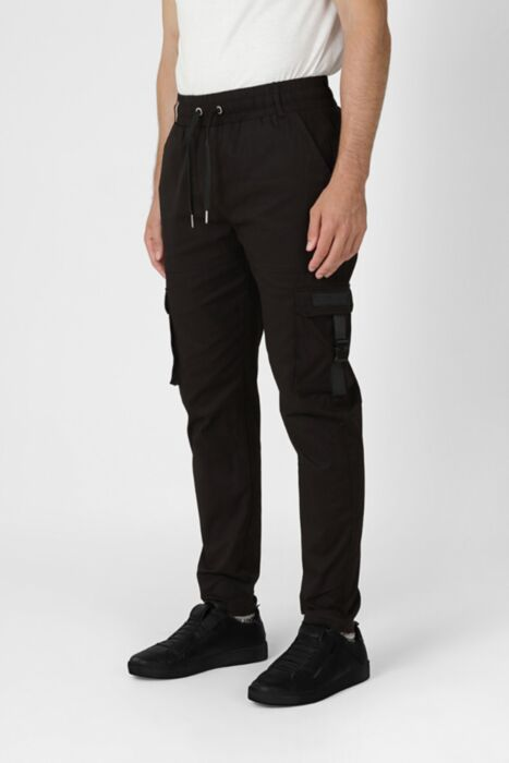 Cargo Pants With Buckle