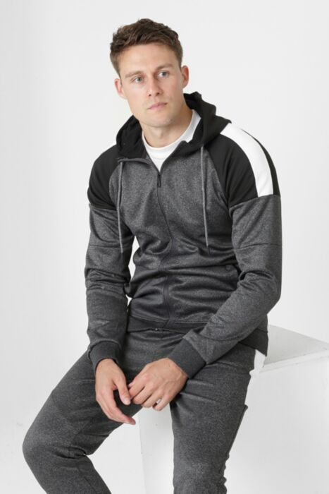 Jumpman Tracksuit in Dark Grey - Hoody