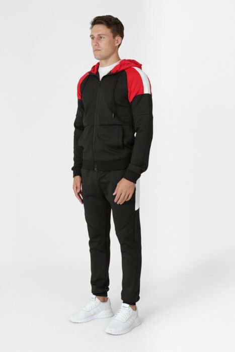 Jumpman Tracksuit in Black - Bottom