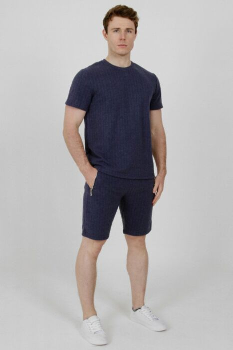 Stanworth T-Shirt Set in Navy