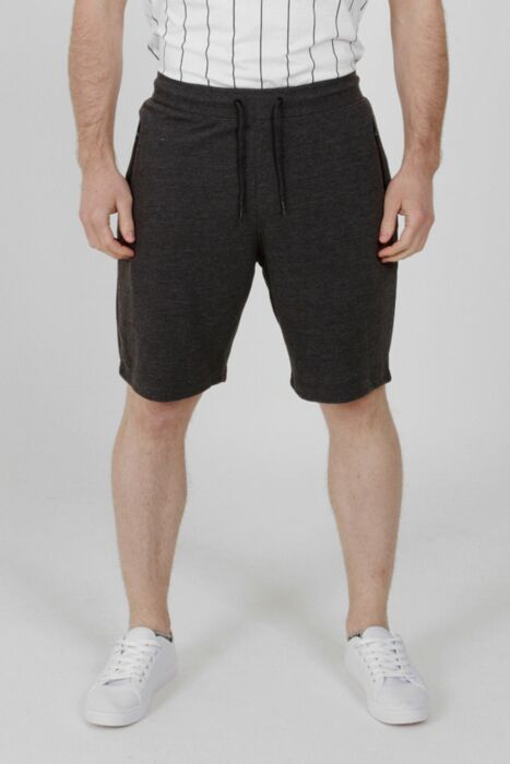 Rib Shorts Dark Grey