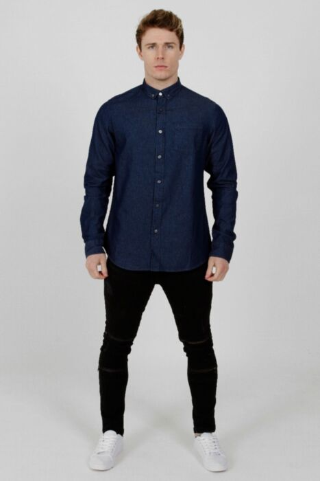Denim Shirt Dark-Wash