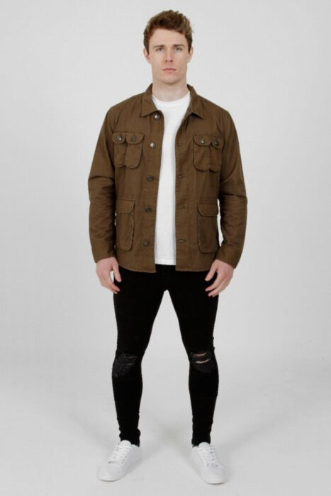 Collared Jacket Khaki