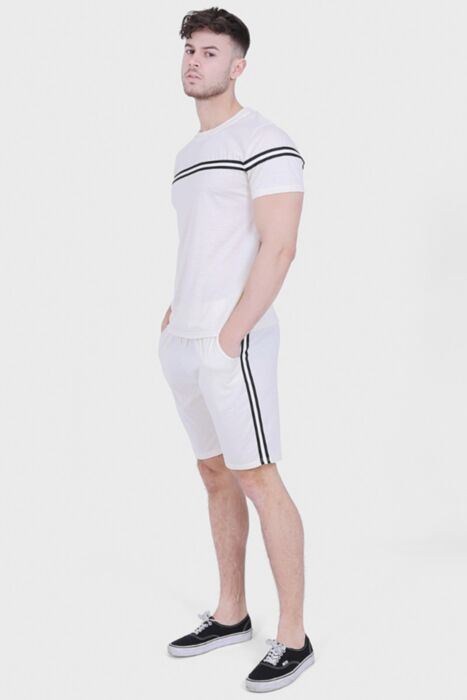 Off-White Lined Twin Set