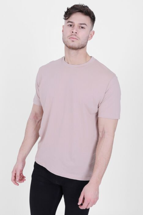 Dusty Pink 100% Pure Cotton T-Shirt