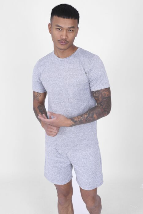 Grey Active T-Shirt Set