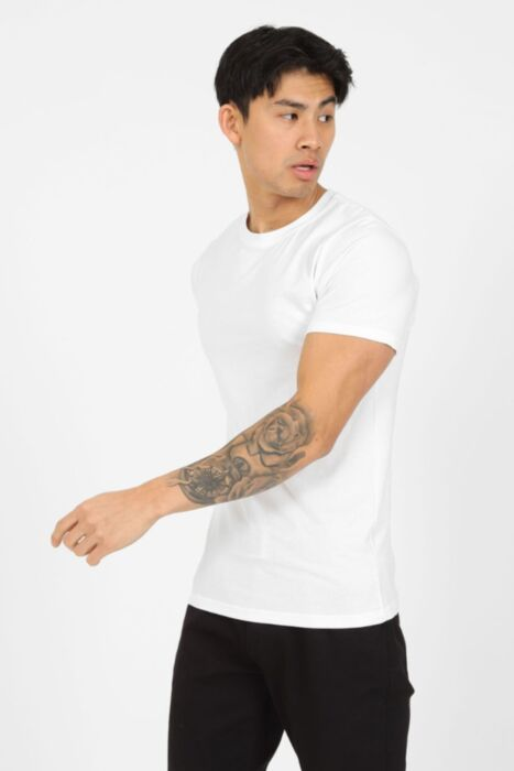 Premium Muscle Fit T-Shirt in White