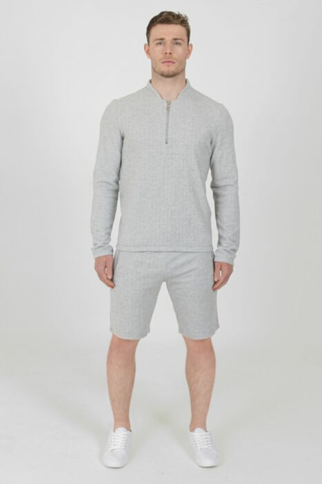 Stanworth Shorts Set in Grey
