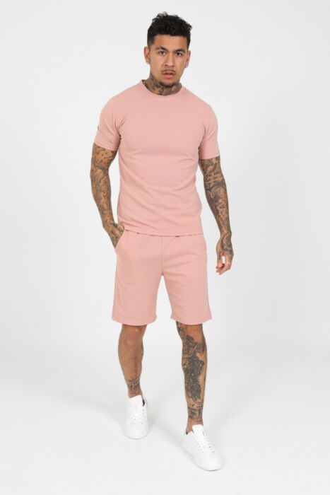 Montro Twinset in Dusty Pink