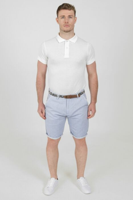 Pure Cotton Shorts in Blue