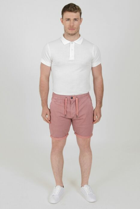 Lined Beach Short in Pink