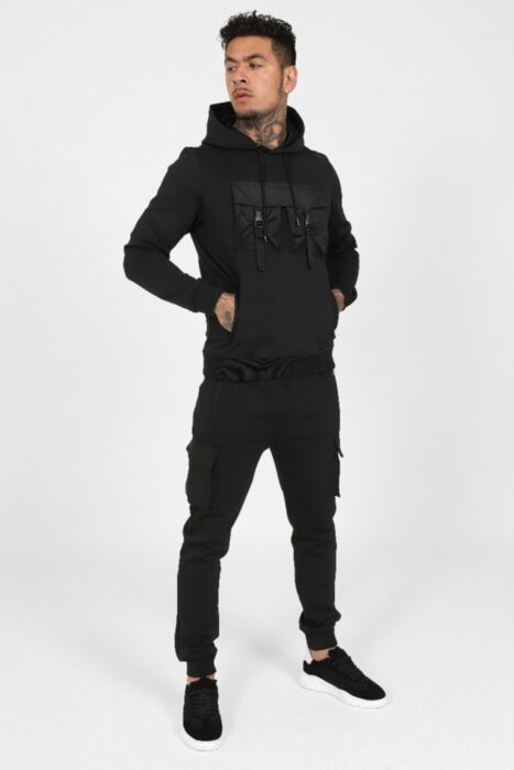 Cargo Xtreme Tracksuit in Black