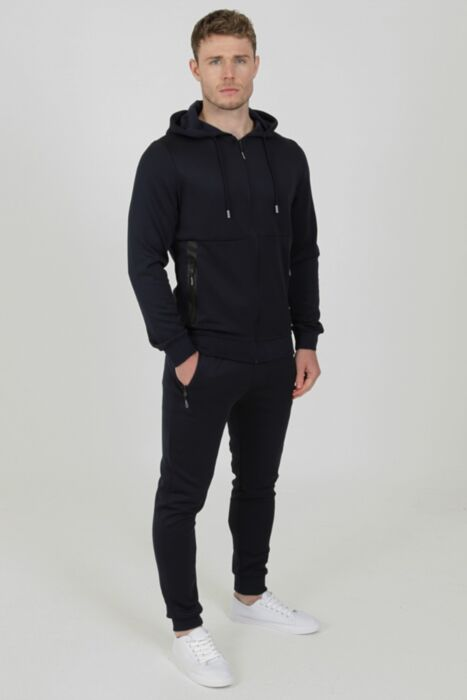 Tech Tracksuit in Navy