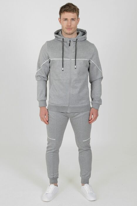 Flare Tracksuit in Grey