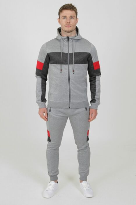 Roma Tracksuit in Grey