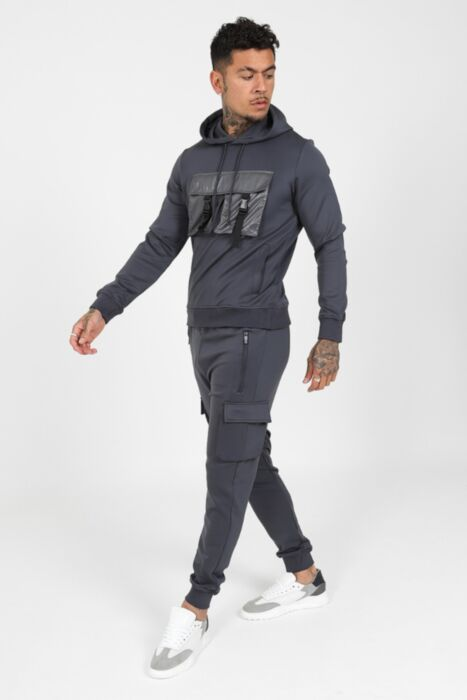 Cargo Xtreme Tracksuit in Steel Grey