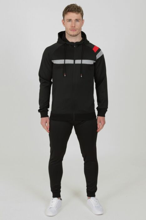 Flash Tracksuit in Black