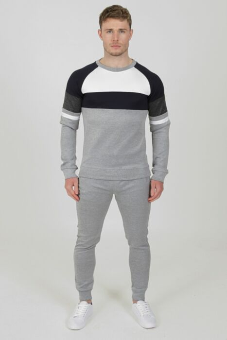 Allure Tracksuit in Grey