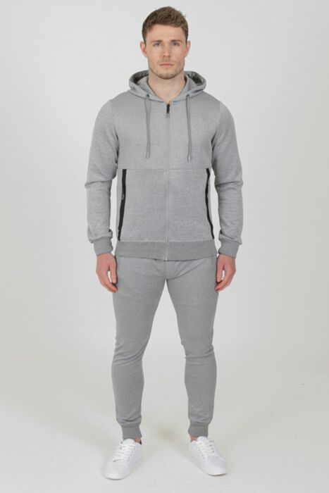 Tech Tracksuit in Grey