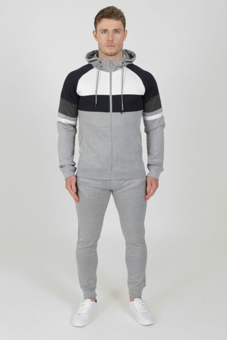 Clash Tracksuit in Grey