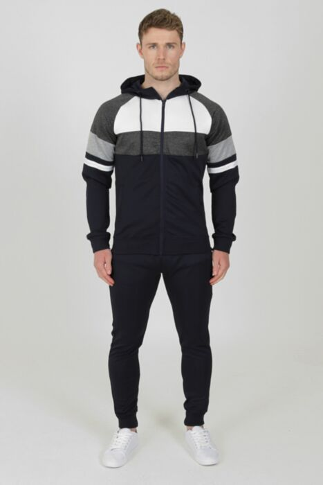 Clash Tracksuit in Navy