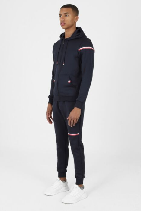 Lux Otto Tracksuit in Navy - Hoodie