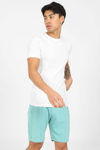 Smart Terry Short in Pale Green