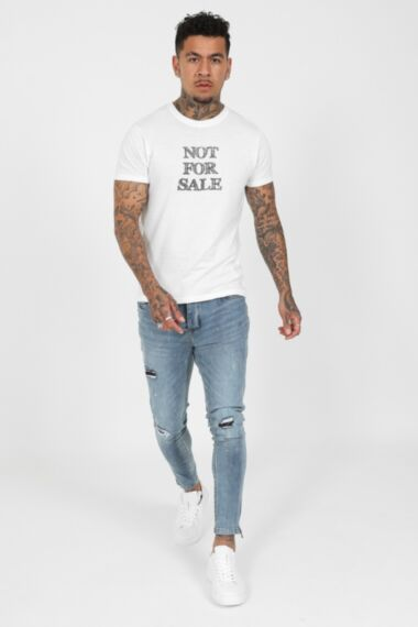 Not For Sale T-Shirt in White