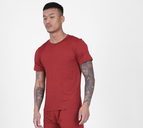 Red Active Tee