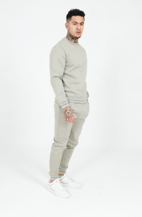 Emea Lined Tracksuit in Grey