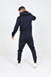 Varsity Poly Tracksuit in Navy