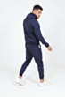 Arm Panel Poly Tracksuit in Navy