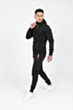 Lux Poly Tracksuit in Black