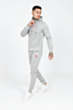 Lux Poly Tracksuit in Grey