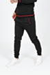 Poly Lined Tracksuit in Back
