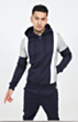 Chandler Poly Tracksuit in Navy