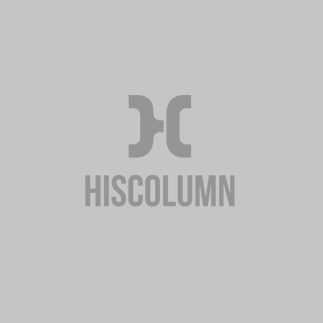 Lined Crewneck Short Set in Grey